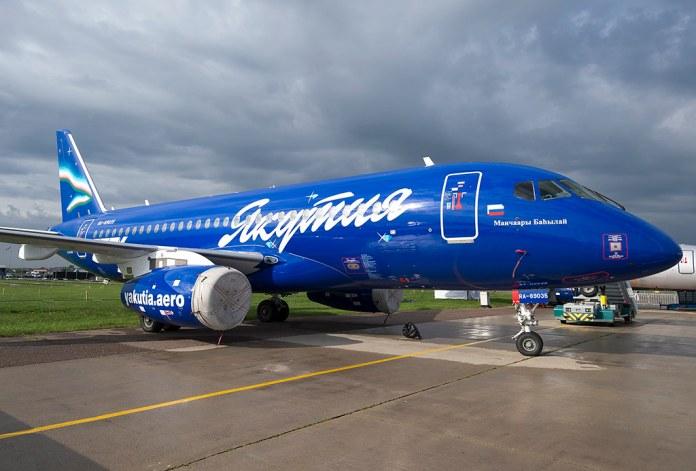 "RA-89035 Yakutia Airlines Sukhoi SSJ-100-95-LR-100 Superjet 100 (RRJ-95LR) ""Vasily Manchaara"""