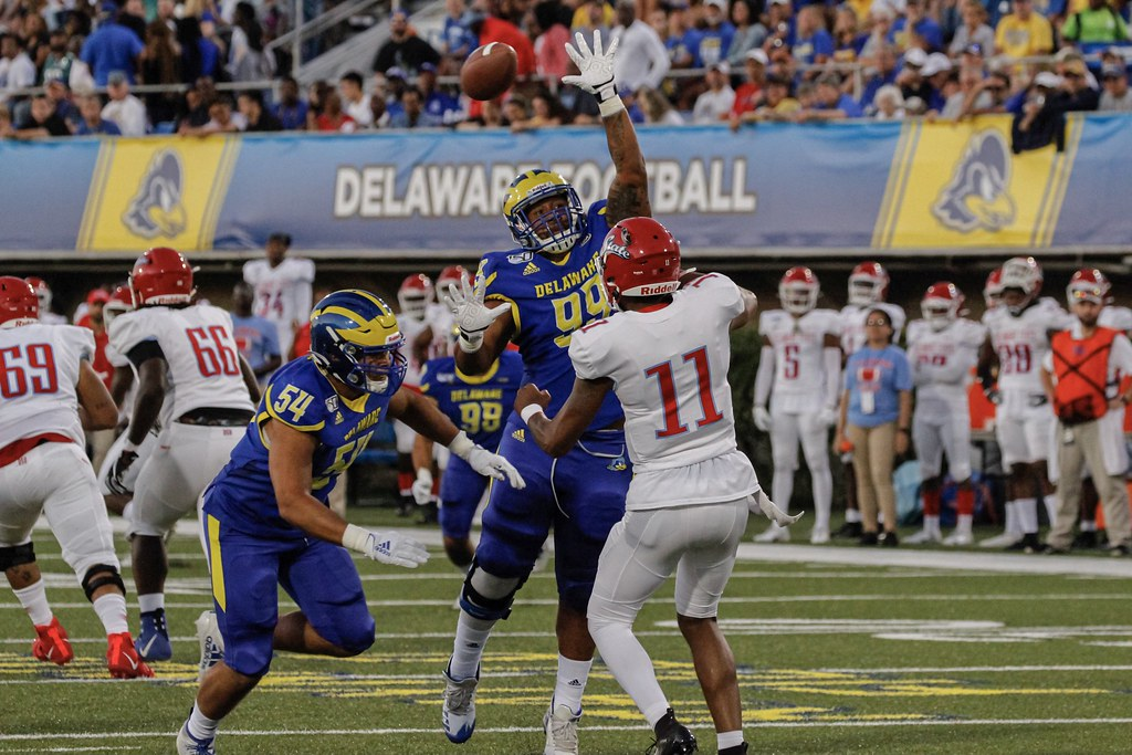 UD Football vs. Del. State - 8/29/19 - Louis Mason