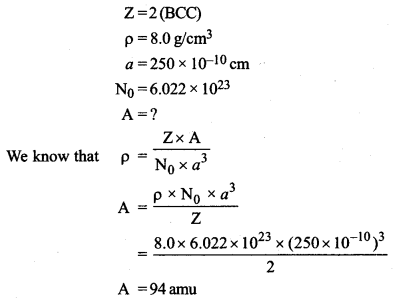 ISC Chemistry Question Paper 2019 Solved for Class 12 Q10