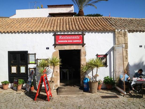 Restaurante recomendado en Betancuria