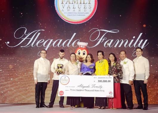 Jollibee Family Values Awards Alegado