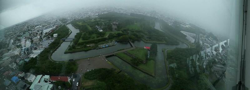 panoramic Goryokaku