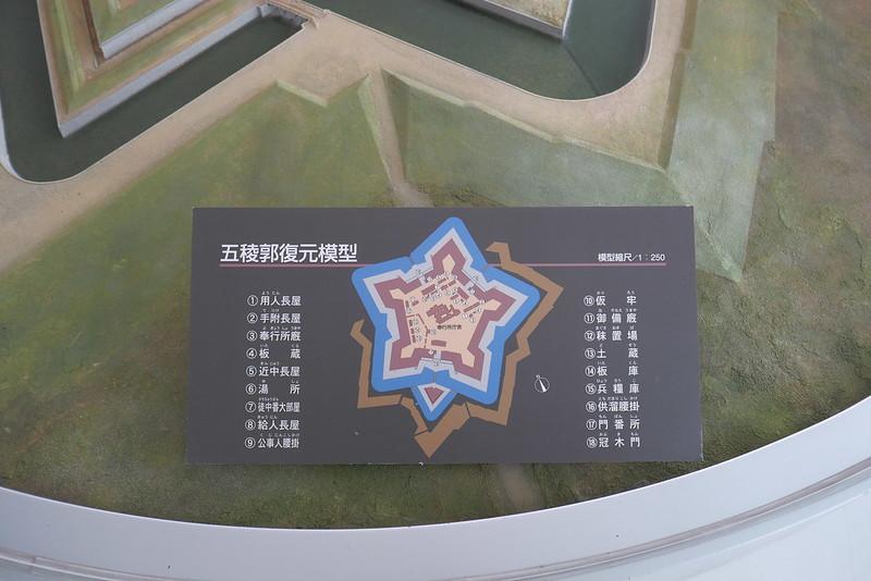 五稜郭復元モデル