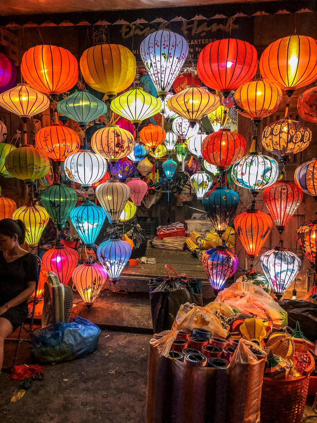 Lanterns at the Market
