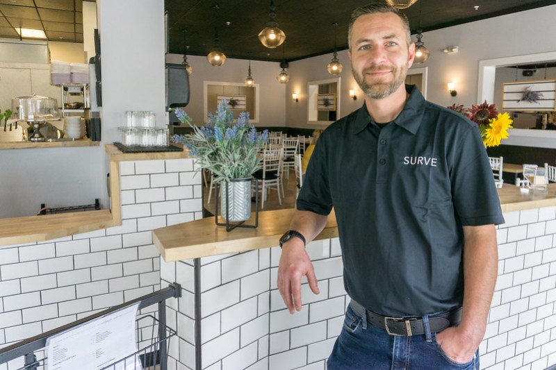 Joseph Sauvie, Owner & Operator of Surve Restaurant - Delaware County Ohio Aug. 26, 2019