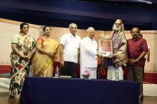 Ananthapadmanabhan_Awarded