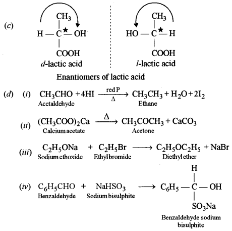 ISC Chemistry Question Paper 2015 Solved for Class 12 Q9