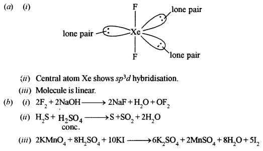 ISC Chemistry Question Paper 2013 Solved for Class 12 Q6