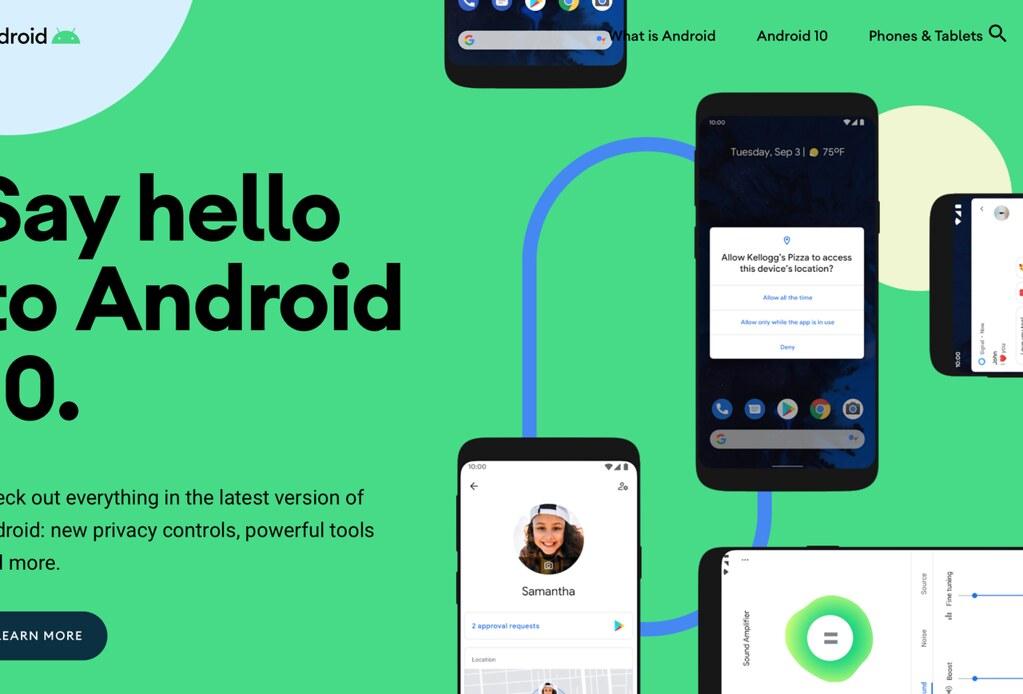 Pixel手機先嚐!Android 10今日正式釋出給