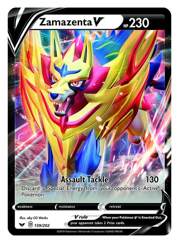 Pokémon TCG Galar Collection_Zamazenta V