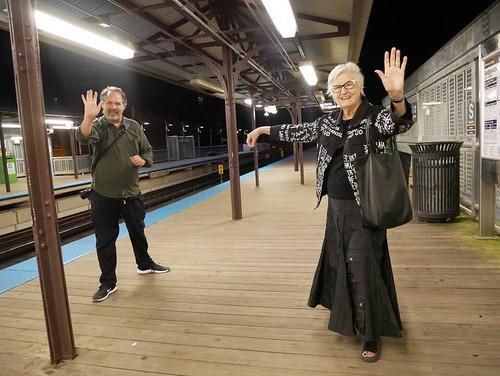 Tai Chi on Sedgwick El Platform