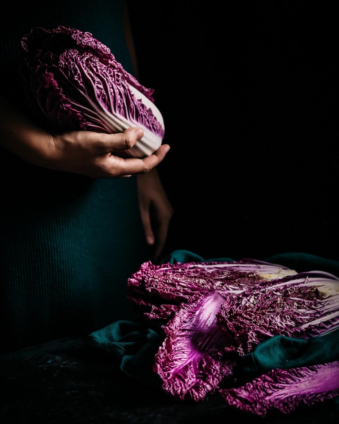 violetti kiinankaali