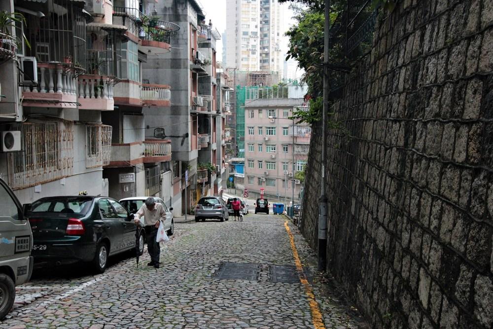 Enroute to Penha Church   Macau, China