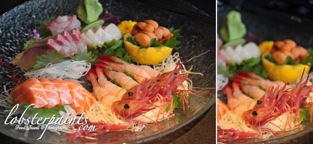 特盛刺身 @ 天 Sky 21 Bar & Restaurant   Macau, China