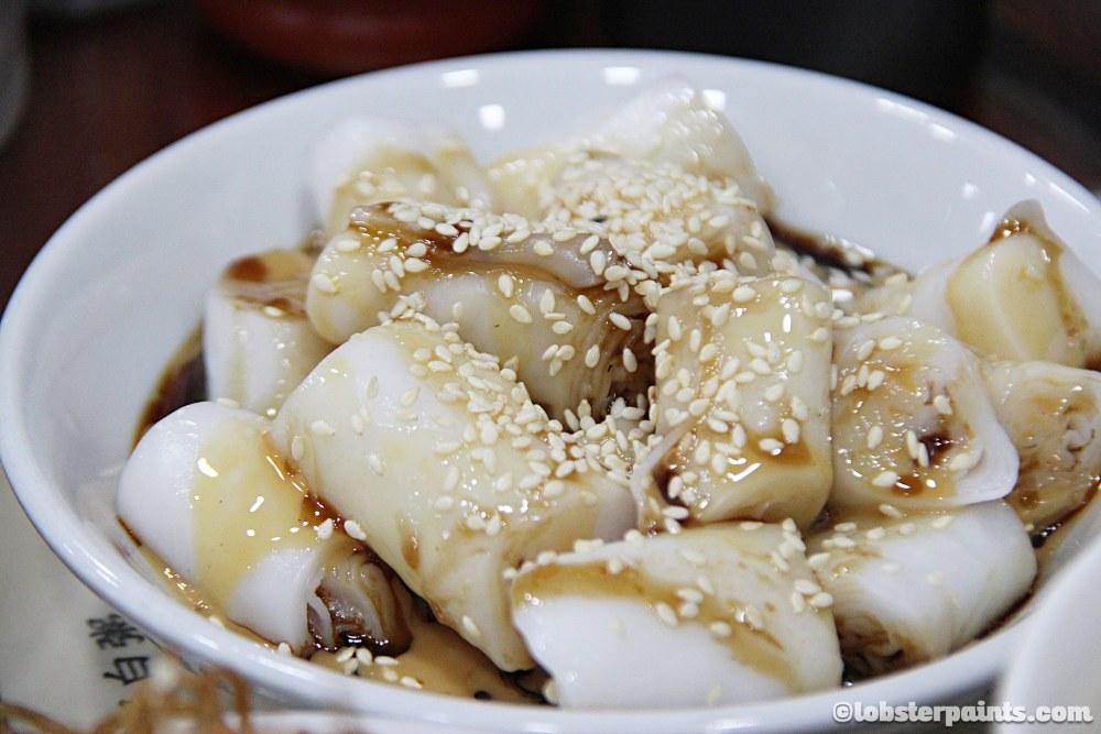 豬腸粉|Breakfast at 盛記白粥