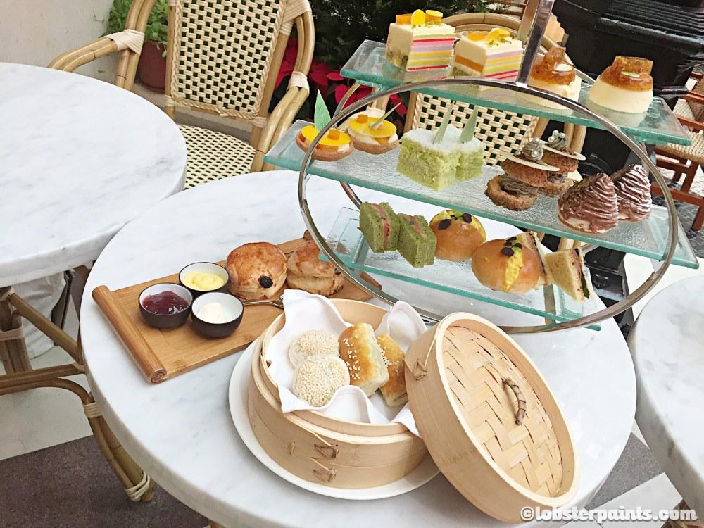 High tea at Pastry Bar, MGM Macau