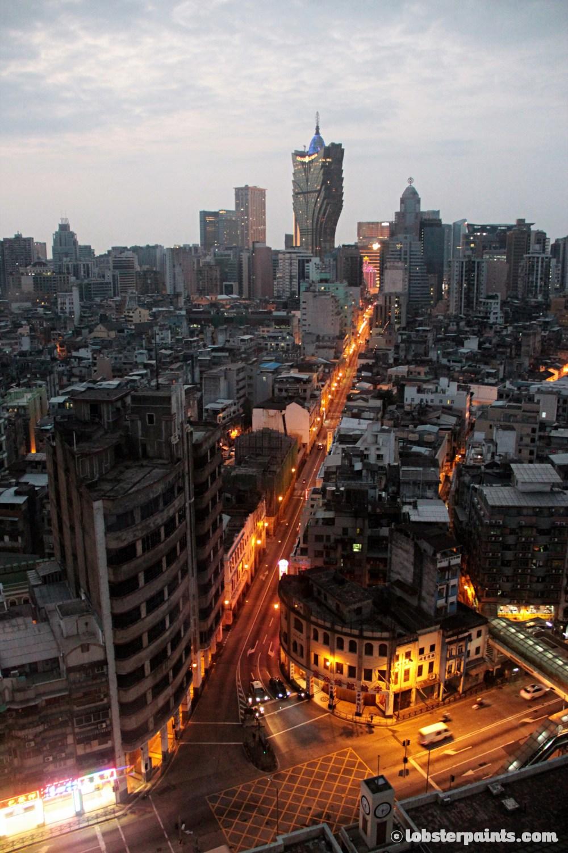 View from Sofitel at Ponte 16 | Macau, China