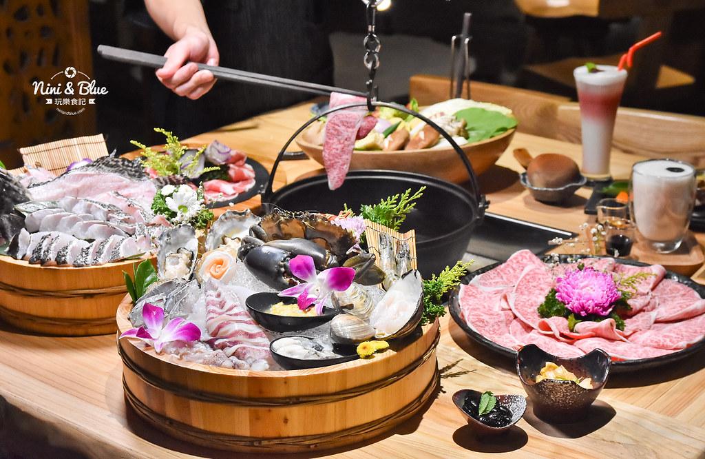臺中火鍋推薦| 暮藏和牛鍋物,頂級和牛活體海鮮,全程專人幫煮還幫忙去魚刺,分解螃蟹 Nini and Blue 玩樂食記
