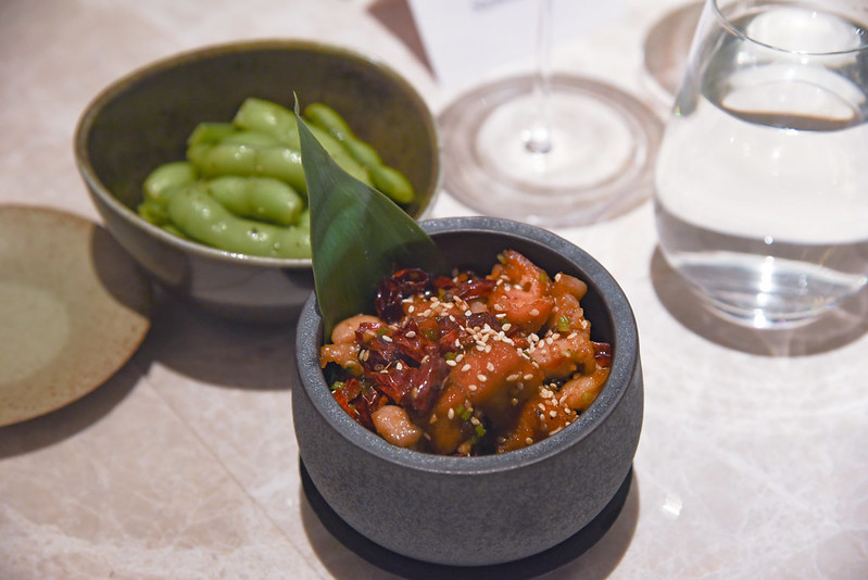 sichuan spicy chicken and luncheon meat- yi by jereme leung