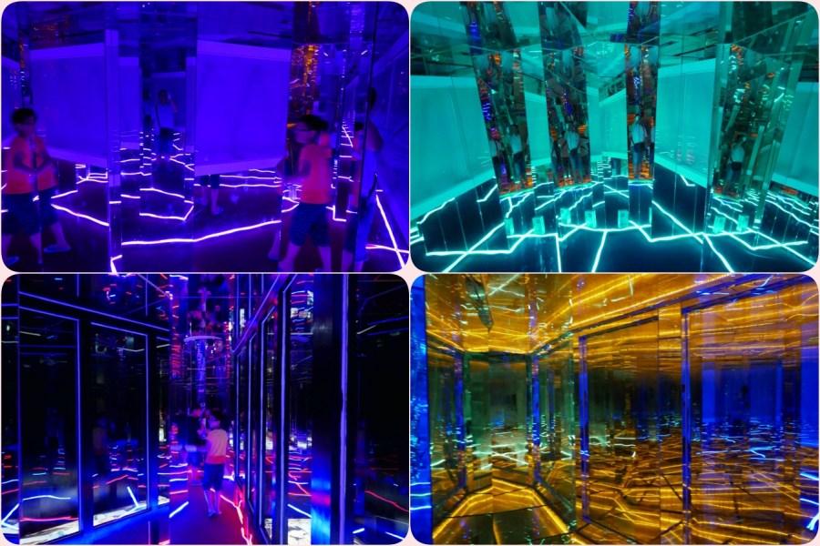 免門票,彰化旅遊,玻璃媽祖廟,臺灣玻璃館,觀光工廠,黃金隧道海底世界 @VIVIYU小世界