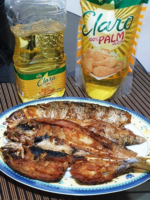 Jolly Claro Pal Oil Review Daing na Bangus