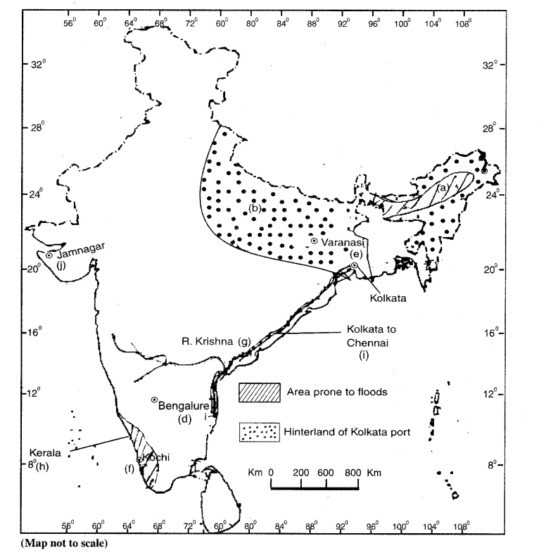 ISC Geography Question Paper 2010 Solved for Class 12-2