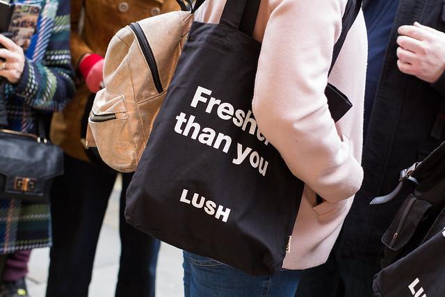 Lush HK Naked Shop-Opening gift