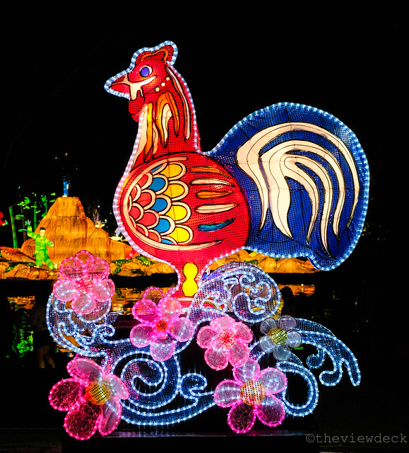 Rooster Lantern