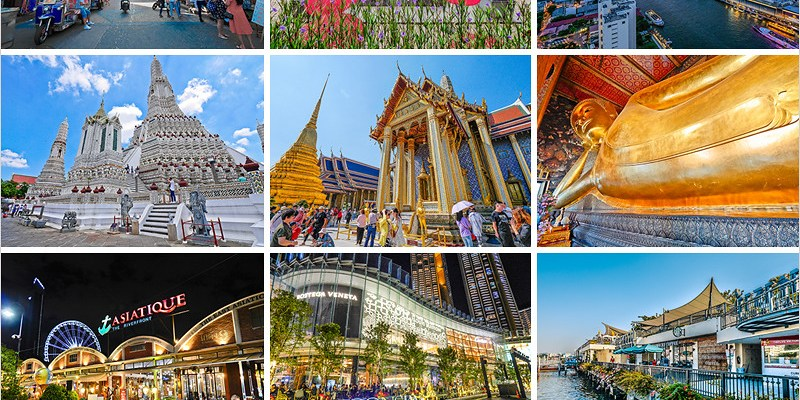 泰國曼谷昭披耶河景點懶人包 | 大皇宮&玉佛寺、鄭王廟、臥佛寺、ICONSIAM、河濱碼頭夜市、廊Lhong 1919,搭船路線、票價、交通攻略、餐廳,一日遊推薦。