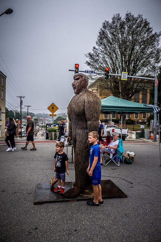 2019 Bigfoot Festival in Marion NC