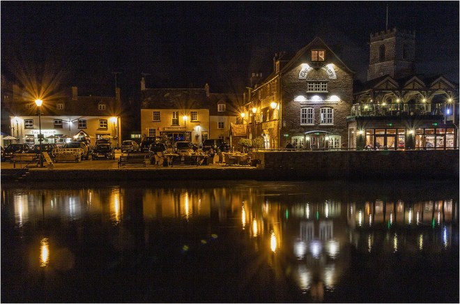Wareham Quay on a September night