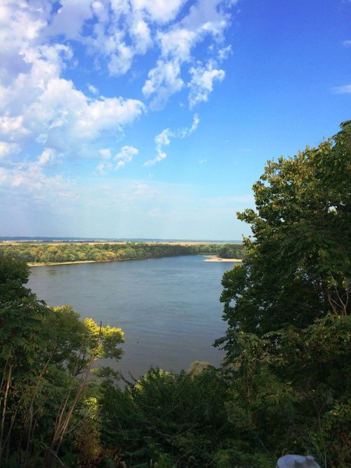 Mississippi River View From Lighthouse Hill