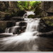 Lumsdale Falls Waterfall