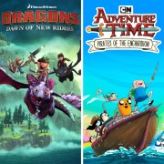 Thumbnail of Adventure Time and Dreamworks Dragons on PS4