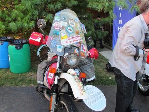 Dr. Frazier's GS Around the World Bike