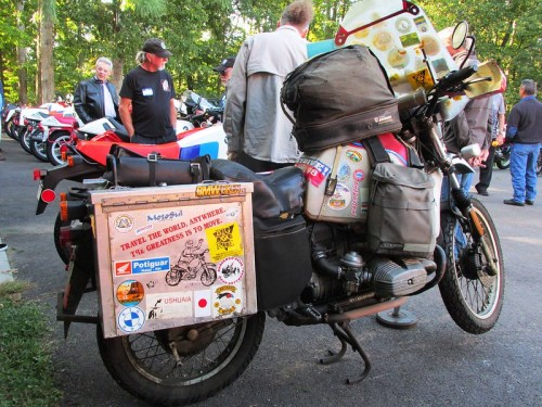Dr. Fraiser's GS Around the World Bike