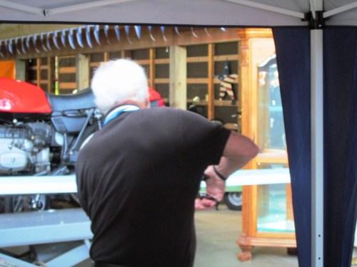 Todd's Bike Barn Ribbon Cutting By Hans