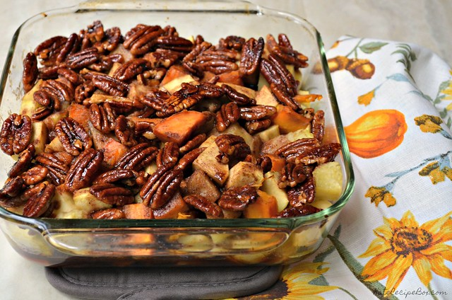 Whisky Glazed Sweet Potatoes and Apples 3