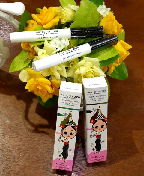 Amway Artistry Studio Bangkok Edition 2 in 1 Matte Lip Crayon