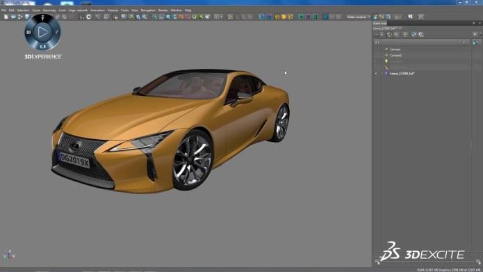 Working with DS 3DEXCITE DELTAGEN Marketing Suite 2019x full license