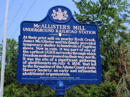 Underground Railroad Station