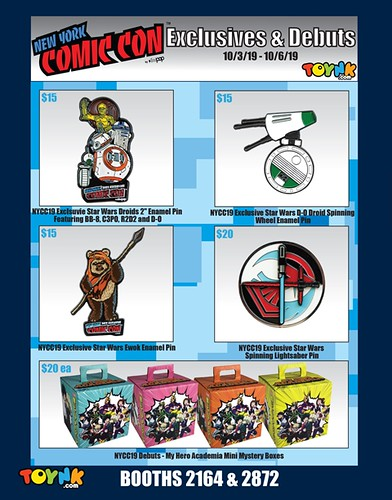 NYCC19 Exclusives PAGE 2