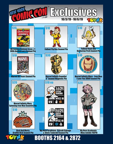 NYCC19 Exclusives PAGE 1