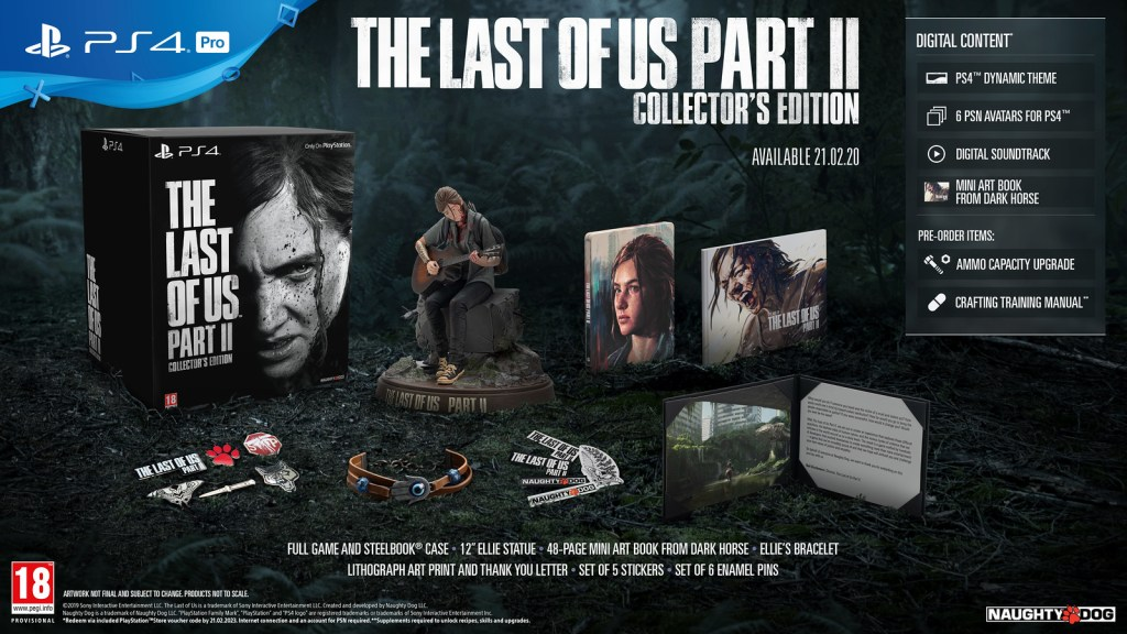 The Last of Us Part II Collector Edition on PS4
