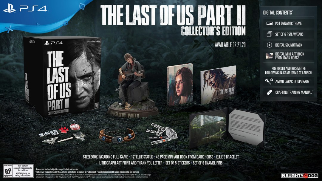 The Last of Us Part II Special Editions Revealed