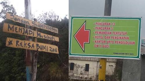 pengumuman-dan-petunjuk-arah-obyek-wisata-guci-kabupaten-tegal