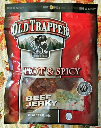Hot and Spicy Old Trapper Beef Jerky ~ Product Review @old_trapper #MySillyLittleGang @SMGurusNetwork #WhatsYourBeef