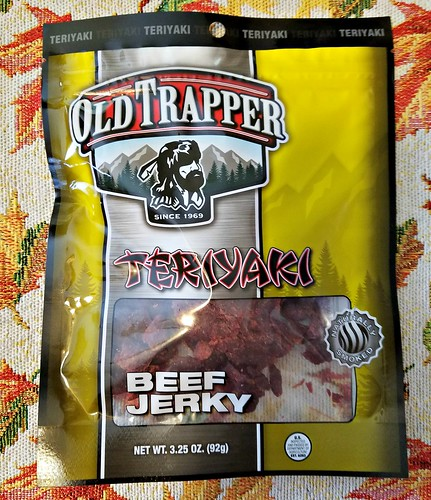 Teriyaki Old Trapper Beef Jerky ~ Product Review @old_trapper #MySillyLittleGang @SMGurusNetwork #WhatsYourBeef