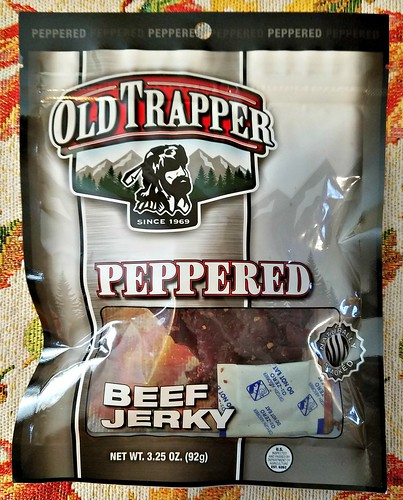 Peppered Old Trapper Beef Jerky ~ Product Review @old_trapper #MySillyLittleGang @SMGurusNetwork #WhatsYourBeef