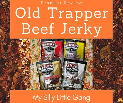 Old Trapper Beef Jerky ~ Product Review @old_trapper #MySillyLittleGang @SMGurusNetwork #WhatsYourBeef
